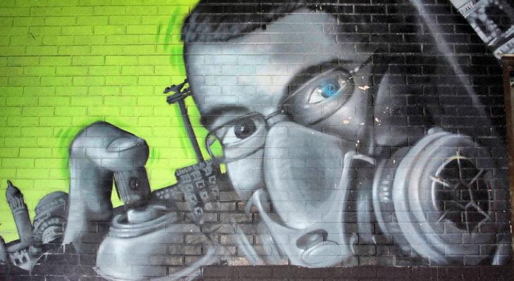 covid-19 graffiti